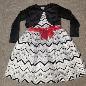 Yongland girls Christmas dress size 4